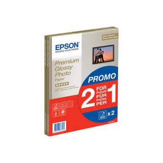C13S042169 – Epson Premium Glossy Photo Paper BOGOF