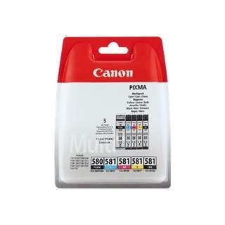 2078C006 – Canon PGI-580 PGBK/CLI-581 CMYBK Multipack