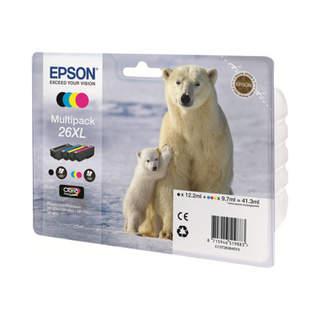 C13T26364010 – Epson 26XL Multipack