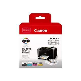 9218B005 – Canon PGI-1500 BK/C/M/Y Multipack
