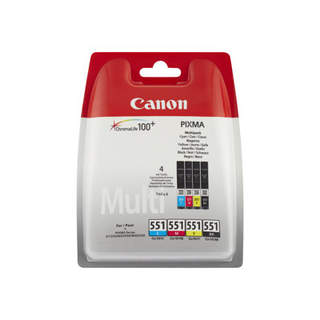 6509B009 – Canon CLI-551 C/M/Y/BK Multipack