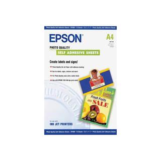 C13S041106 – Epson Photo Quality Self Adhesive Sheets