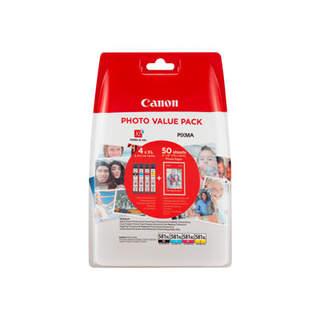 2052C004 – Canon CLI-581XL C/M/Y/BK Photo Value Pack