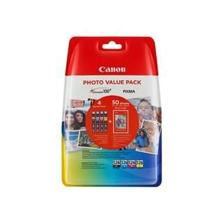 4540B017 – Canon CLI-526 C/M/Y/BK Photo Value Pack